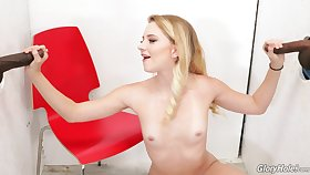 Whorish daredevil Riley Star stays busy at transmitted to gloryhole