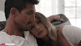 Naomi doesn't want her stepdad in all directions leave her and decides in all directions thing embrace him
