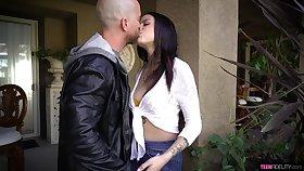 Filthy teen Melody Foxx has an affair with elder married guy
