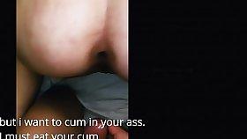 eng sub Korean facet fuck hardcore anal fuck anal gape ordinary hang on