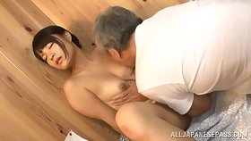 Seductive Japanese loves a good foreplay before a good fuck