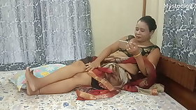 Desi Indian Mom with will not hear of sons friend