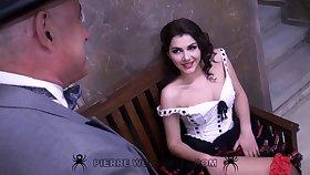 Valentina Nappi hot costumed porn video