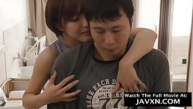 Erogenous Japanese Mommy Added to Hot Stepson